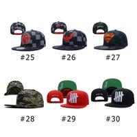 Cheap Snapbacks Hip Hop Street Caps Best Unisex Plain Dyed baseball hats caps