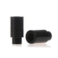 Wholesale 510 Wide Bore Drip Tips Carbon Fiber Drip Tips Friction o Ringless Drip Tips
