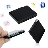 Wholesale Wireless Bluetooth pin Audio Music Receiver for Iphone Ipod Ipad