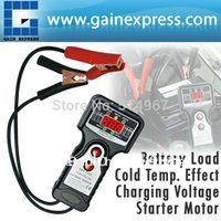 Wholesale Digital Car Automative Vehicular Auto Battery Tester Checker Analyzer with V and V Voltage Indicator