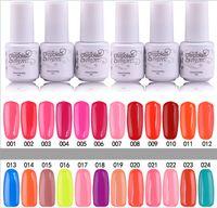 Wholesale freeshipping high quality soak off gel polish nail gel lacquer varnish for nail polish uv gel colors