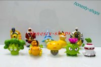 Wholesale New Arrival PVZ Plants vs Zombies It s About Time PVC Figures Collectible Model Toys Dolls set