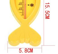 baby bath thermometers - Hot sale Baby bathing fish thermometer baby washing toy plastic fish toy