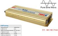 solar inverter - 2000W Power Inverter Pure Sine Wave DC to AC Converter Solar Inverter AC Adapter Watt Inverter Power Supply Wave Inverte Meind Dropshipping
