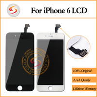 Wholesale AAA For iPhone LCD With Touch Screen Digitizer Screen Replacement Assembly Display quot Inch No Dead Pixel