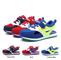 Wholesale 2015 Summer New Kids Shoes Boys and Girls Sports Sandals Unisex Fashion High Quality Lightweight Breathable Deodorant Mesh Hollow Sandals