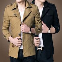 Wholesale men jacket Spring and Autumn new men s jackets thin cotton casual men s coat size M XXL