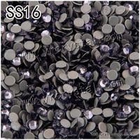 Wholesale 2058HF Flatback Tanzanite Color SS16 Top Quality More Better Than DMC Crystal Hot fix Rhinestone