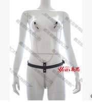 adult clothes - 1PCS Nipples Clamps Leather Set Sex Toy Adult Appliance Leather Restraints Clothing Sex Leather Sets sex products Sex bondage handcuffs