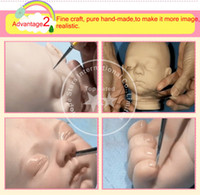 baby doll nylon - New Style Vivid Full Silicone Reborn Baby Dolls With Lovely Cloth Lifelike Baby Reborn Dolls Toys For Child