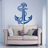anchor wall stickers - Anchor Wall Decal Art Decor Sticker Vinyl Nautical wall decal for Living room kids room