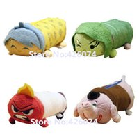 Wholesale Original Tsum Tsum Inside Out Joy Anger Digust Sadness Bing Bong Kids School Pencil Bag Case Pen Pouch For Children
