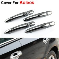 Wholesale 4pcs Door Handle For Renault Koleos Accessories Car Styling Fashion Stickers Cover ABS