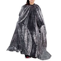Wholesale Top selling Hairdresser Cloth Styling Cape Salon Gown Cloth Styling Hairdressing Cape Care Waterproof Haircutting Apron Cap