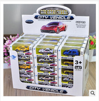 diecast model car - 1 Diecast Cars Model Vehicle High Quality Baby Toy Cars Diecast Car Model Christmas Gifts m00577