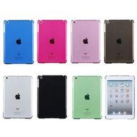 Wholesale Wholesales Slim Magnetic Plastic Back Case For ipad air ipad ipad mini