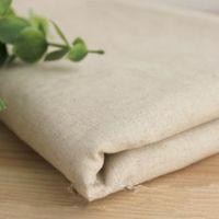Wholesale 160 CM Linen Cotton Tablecloth Handmade Linen Textile Fabrics Natural Jute Ribbon Table Runner Wedding Party Decorations