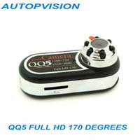 Wholesale QQ5 Mini Camera Full HD Degrees Infrared Night Vision DVR Camera MP Mini dv Webcam