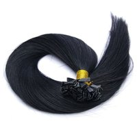 Cheap 6A Brazilian human hair straight flat tip hair extension 18-28inches 3pcs lot for DHL FREE SHIPPING in stock keep long time!