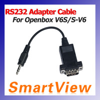Wholesale Original RS232 Adapter Cable for skybox V6 S V6 S V6 Openbox V6S Satellite Receiver