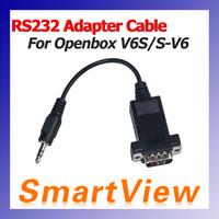 Wholesale RS232 Adapter Cable for skybox V6 S V6 S V6 Openbox V6S Satellite Receiver D0268