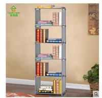 Shoes Metal  Simple shelf Free combination, wrought iron bookcase, bookcase shelf layer be born bookcase