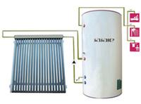 tipo particular calentador solar de agua de alta presión integreated, colector solar con el sistema de tubo tubo de calor, bobinas de cobre sistema de calefacción de agua caliente