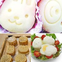 Wholesale Mini Rabbit Egg Sushi Rice Mold Mould Cutter Maker Lunch Bento Box Kitchen Tool