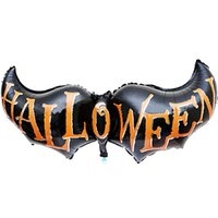 bat activities - Activity Funny Halloween Bat wings Decorative Foil Balloons Freeshipping amp Overmal