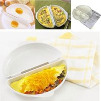 best cooker - Best Sale Hign Quality Useful Two Eggs Microwave Omelet Cooker Pan Microweavable Cooker Omelette Eggs Steamer Home Kitchen