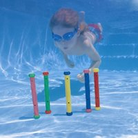 activity pools - Summer Children Water Games Toys Kids Activity Diving Underwater Non toxic Sticks Intex Brand Swimming Pool Toys