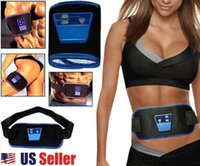 body machine - Massager Body Muscle Waist Abdominal Massage Relaxation Belt Machines Toning Exercise Belt Electronic Arm Leg Massagers