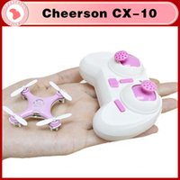 toy airplane - Cheerson CX CX10 Mini G Remote Control Toys CH Axis RC Drone Quadcopter RC helicopter camera Channel Axis Gyro UFO Airplane