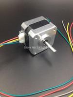 Wholesale Nema Stepper Motor bipolar leads mm V A Ncm oz in D printer motor SHD0001 A3