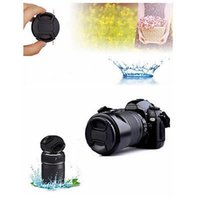 Wholesale New mm Front Lens Cap Hood Cover Snap on With Cord For Nikon Canon Pentax