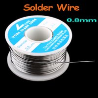 Wholesale Hot Sale High Quality mm g Tin Lead Melt Rosin Core Solder Soldering Wire Reel Freeshipping Dropshipping