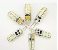 Wholesale G4 SMD3014 LED Corn Light AC DC V w w w w w Degree Replace Halogen Lamp