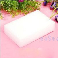 Wholesale 1Pc White Magic Nanometer Melamine Sponge Spongia Eraser Cleaning Foam Cleaner