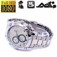 Wholesale 8GB P SPY Hidden DV Night Vision Steel Wrist Watch Digital Video Camera SE