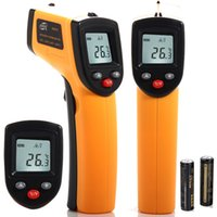 Wholesale NON CONTACT IR LASER TEMPERATURE GUN INFRARED DIGITAL THERMOMETER SIGHT HANDHELD