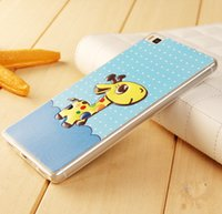 bear mating - For Huawei P8 Mate8 MateS honor7 Case silicone tpu D cartoon Relief phone Case Back Cover giraffe butterfly Little Bear Huawei P8lite case