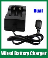 battery charger for sanyo - Wired Dual Battery charger for Trustfire Ultrafire Sanyo Battery charger EU or US plug Li ion battery charger FJ014