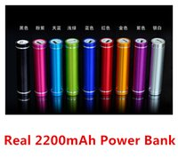 Wholesale AAA mah Aluminum Case USB Power Bank Emergency Battery Powerbank Portable External Batttery Charger Rechargerable For iPhone5 s S4 S3