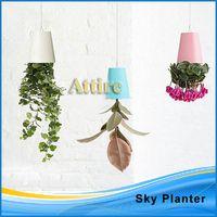 Wholesale Sky Planter Hanging Upside Down Plant Flower Pot Garden Home Office Decor54976 Attire