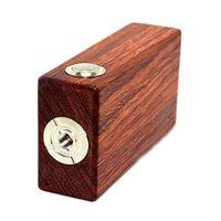 18650   Wood Box Mod V3 Wooden Mechanical Mod 18650 Wood Mod v2 510 Thread Atomizer 5000 puffs Ress-button Switch 0207412