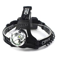 Wholesale HolyFire T1 Remote Illuminated HeadLamp CREE Q5 T6 W Glare Headlight High Power Rechargeable Headlight for Fishing Hunting