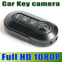 Wholesale hotsale New FULL HD P spy Mini Car Key hidden Camera DVR x1080 Motion Detection Camcorder Night Vision Video Recorder T4000