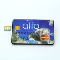 Wholesale New Invisible bank card GSM Credit Card With Covert Mirco Spy Earpiece