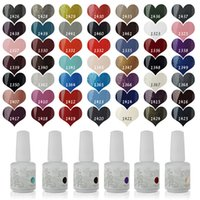 Wholesale Fashion Colors IDO Gelish Nail Art Soak Off Any Pieces UV LED Gel Nail Polish Base Top Coat Manicure Kit ml