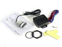 auto start switch - New Promotion Auto Car Keyless Engine Starter Ignition Push Start Button Switch With LED Illumination M8881